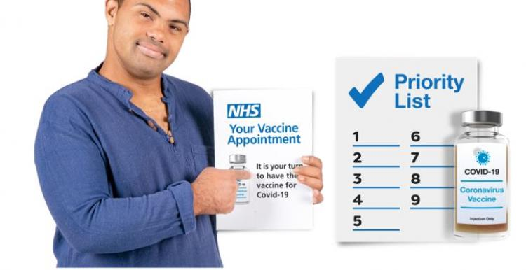 Learning disability coronavirus vaccine poster