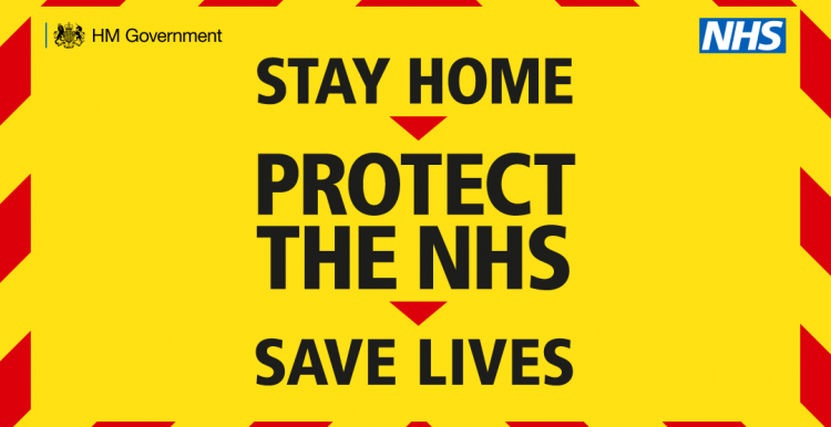 stay home, save lives, protect the NHS