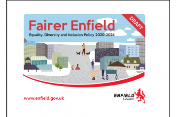 Fairer Enfield Consultation poster