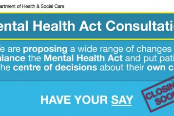 mental health act consultation have your say